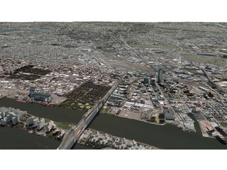 New York City Queens 3D Model