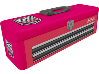 Craftsman Toolbox 3D Model