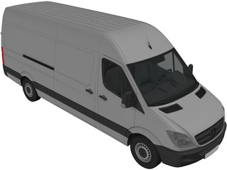 Mercedes-Benz Sprinter 311 CDI (2011) 3D Model