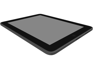 Apple iPad 3D Model