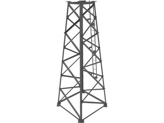 Tower Structure 3D Model