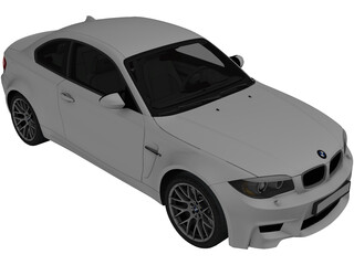 BMW 1 Series M Coupe (2011) 3D Model