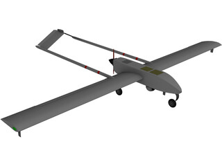 US Army Tactical Unmanned Aerial Vehicle (TUAV) 3D Model