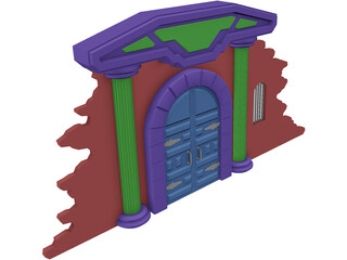 Archway Crypt 3D Model