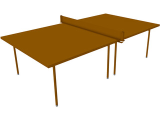 Pinpong Table 3D Model