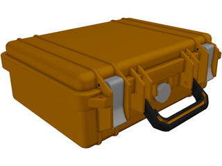 Pelican Case Vanecia 3D Model