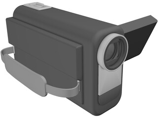 Compact Camcorder 3D Model