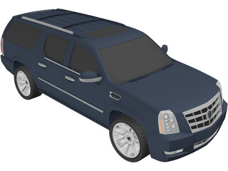 Cadillac Escalade ESV (2013) 3D Model
