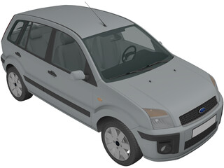 Ford Fusion Hatchback (2006) 3D Model