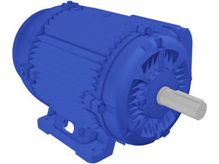 Weg Electric Motor 3D Model