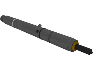 Bosch Diesel Fuel Injector 3D Model