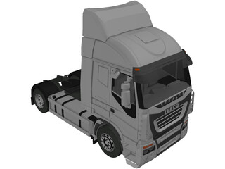 Iveco Stralis AS 440 (2007) 3D Model