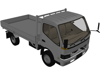 Isuzu Elf 3D Model