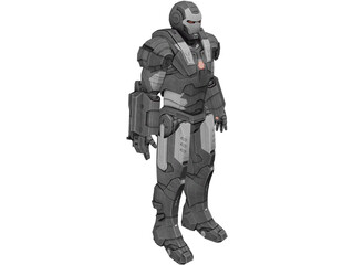 Iron Man War Machine 3D Model