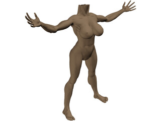 Body Female 3D Model