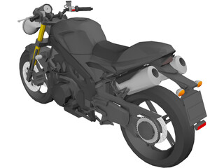 Triumph Speed Triple 3D Model