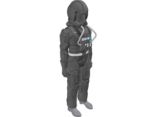 Star Wars Imperial Pilot 3D Model