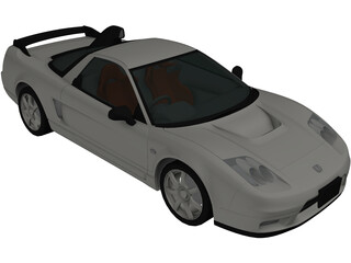 Honda NSX-R [Tuned] (2002) 3D Model