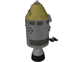 Apollo Spacecraft 3D Model