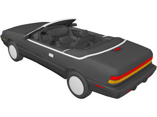 Chrysler Lebaron Convertible (1993) 3D Model