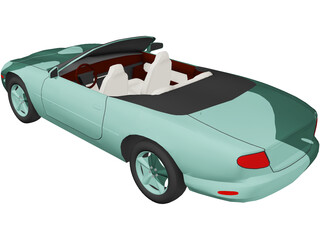 Jaguar XK8 Convertible (2000) 3D Model