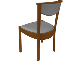 Chair Kitchen 3D Model