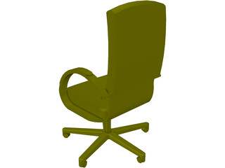 Allsteel Chair 12 3D Model