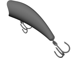 Fishing Lure 3D Model