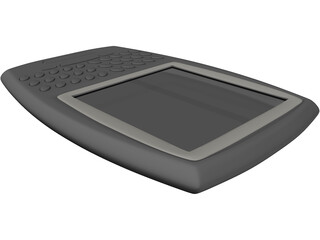 BlackBerry PDA 3D Model