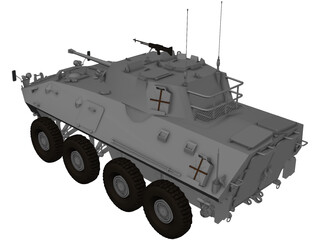 Piranha Lav-25 3D Model