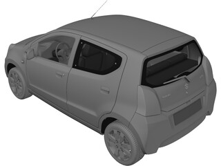 Suzuki Alto A-Star (2009) 3D Model