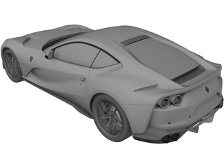 Ferrari 812 Superfast 3D Model