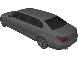 BMW M5 Limo 3D Model