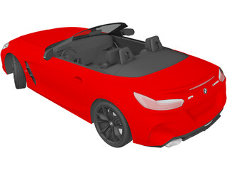 BMW Z4 M40i First Edition Roadster (2019) 3D Model