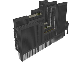 One London Wall Place 3D Model