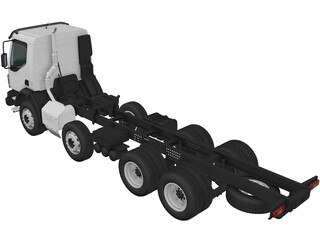 Volvo VM 270 Chassis 3D Model