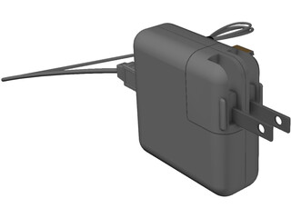 Apple iPhone Charger 3D Model