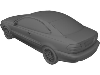Volvo C70 Coupe (2000) 3D Model