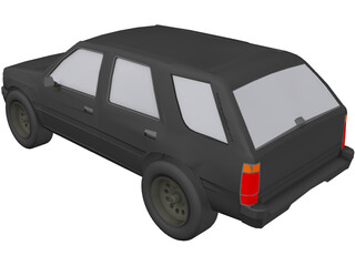Isuzu Rodeo (1992) 3D Model