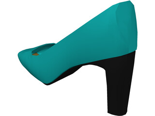 Shoe High Heel 3D Model