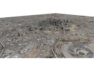 Los Angeles City 3D Model
