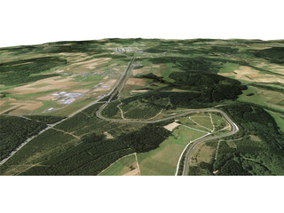 Nurburgring Racing Track 3D Model