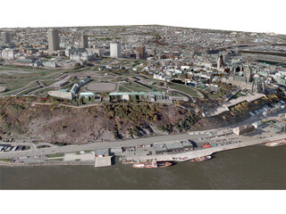 Quebec City 3D Model