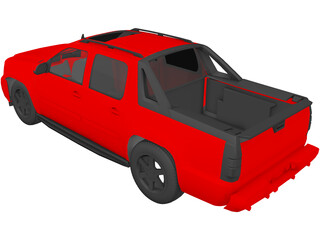Chevrolet Avalanche (2008) 3D Model