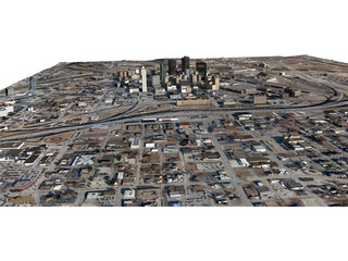 Fort Worth City 3D Model
