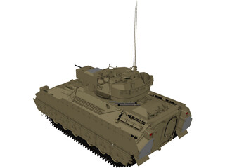 M2A2 Infantry Fighting Vehicle 3D Model