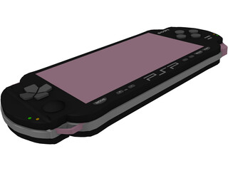 Sony PlayStation Portable (PSP) 3D Model