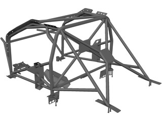 Car Roll Bar 3D Model
