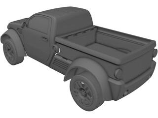 Dodge M80 Light Truck Concept (2003) 3D Model