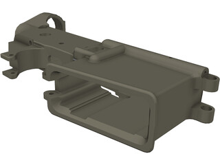 AR-15 Lower Receiver 3D Model